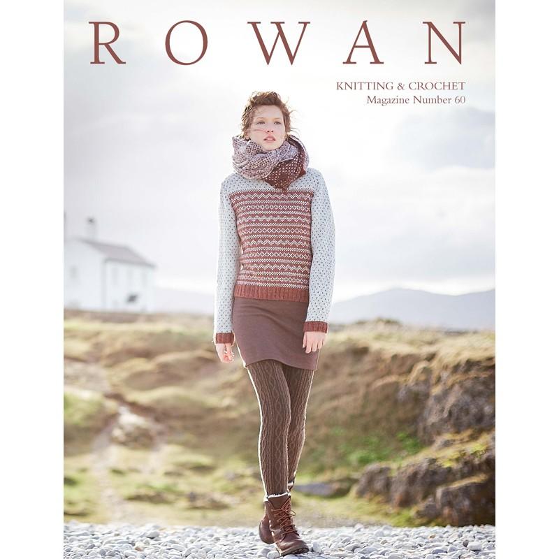 Rowan Nº 60 Knitting & Crochet - Las Tijeras Mágicas