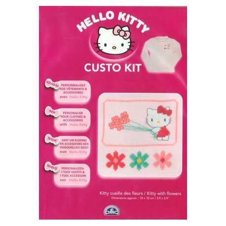 Custo Kit Hello Kitty - Flores