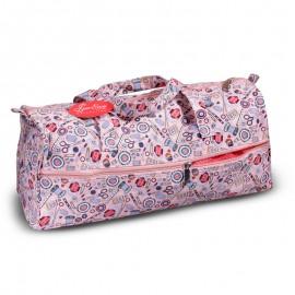 Bolsa para Labores Rosa - Mis accesorios de costura
