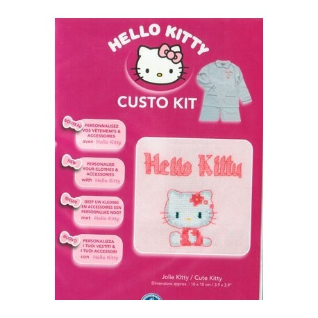 Custo Kit Hello Kitty - Linda gatita