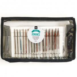 DROPS Pro Romance Interchangeable Circular Needles Deluxe Set