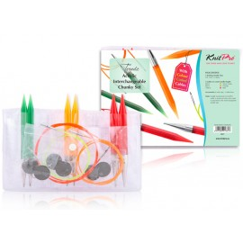 KnitPro Spectra Trendz Acrylic Needles Intechangeable Chunky Set