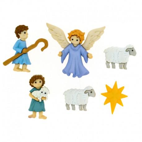 Buttons The Good Shepherd
