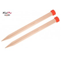 Knitting Needles Jumbo Birch KnitPro