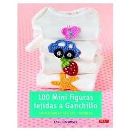 100 mini figuras tejidas a ganchillo