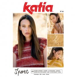 Katia Knitting Magazine Woman Sport Nº 92