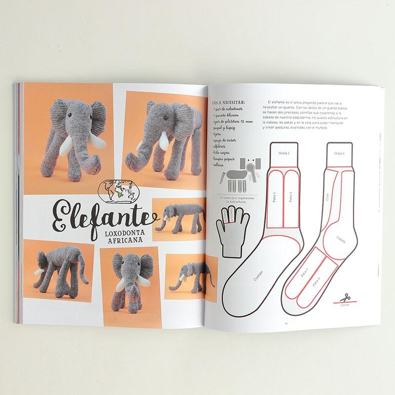 20 animales con calcetines - Las Tijeras Mágicas