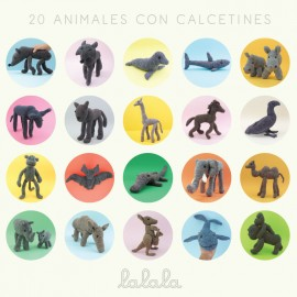20 animales con calcetines