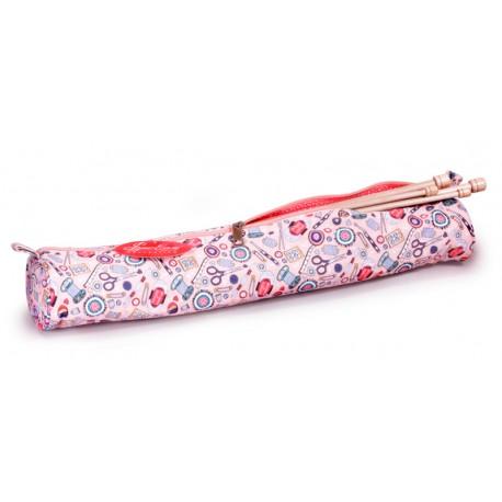 Bolsa Porta Agujas Rosa - Mis accesorios de costura - Sew Easy