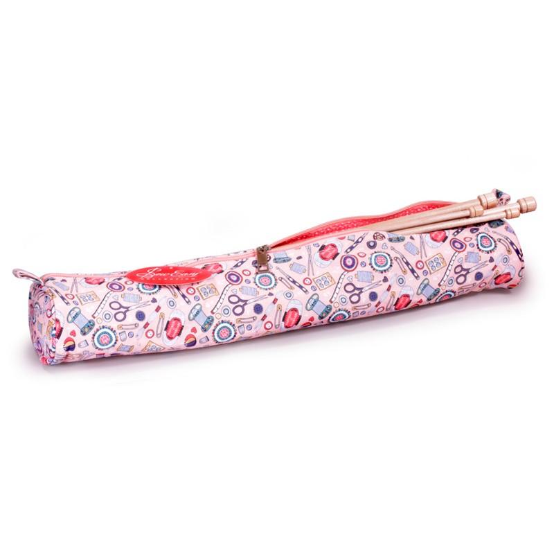 Bolsa Porta Agujas Rosa - Mis accesorios de costura - Sew Easy - Las ...