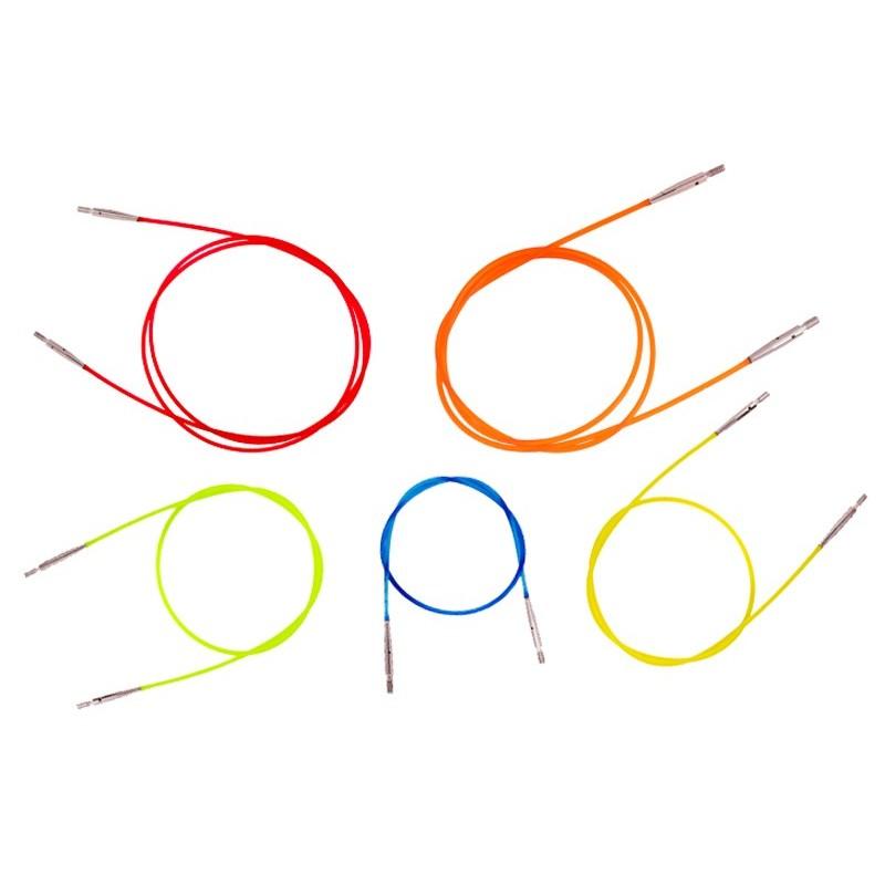 Cables de colores para Agujas Intercambiables KnitPro