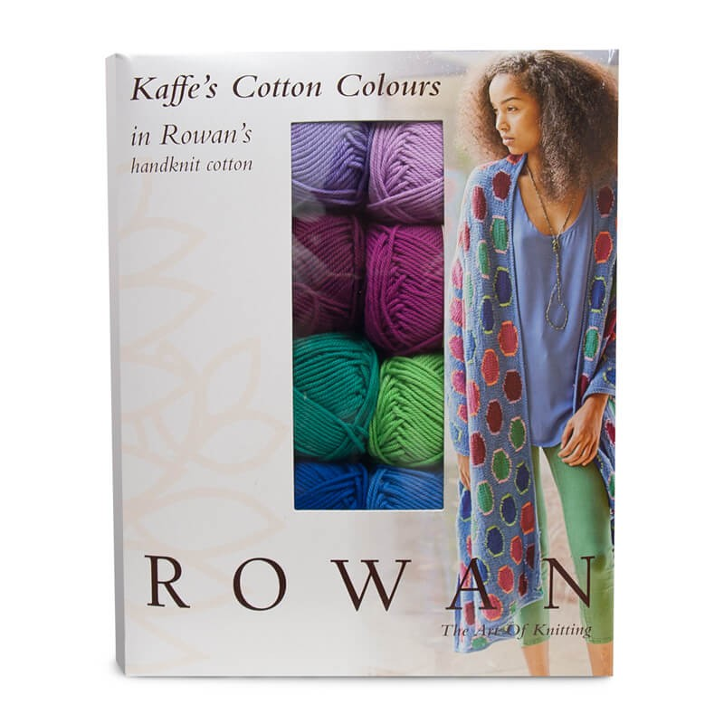 Kaffe Fassett Knitting Kits : Rowan handknit cotton kaffe fassett project kit las