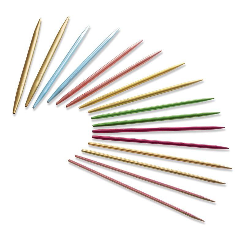Agujas circulares de 80 cm Colores Pony - Las Tijeras Mágicas
