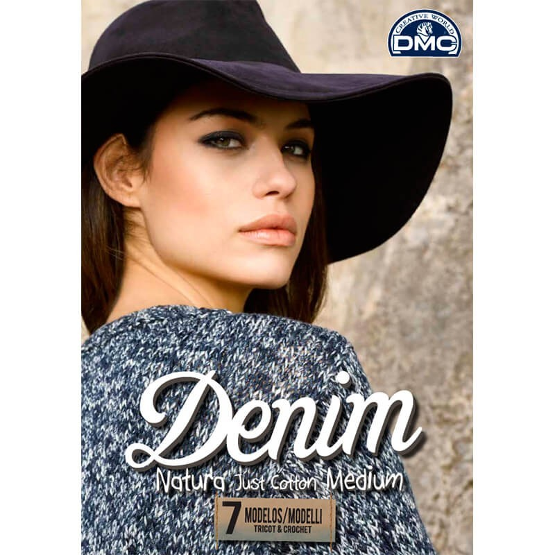 DMC Knitting Magazine Denim Natura Just Cotton Medium