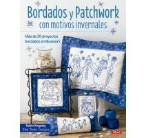 Bordados y Patchwork con Motivos Invernales