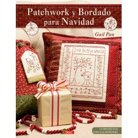 Patchwork y Bordado para Navidad