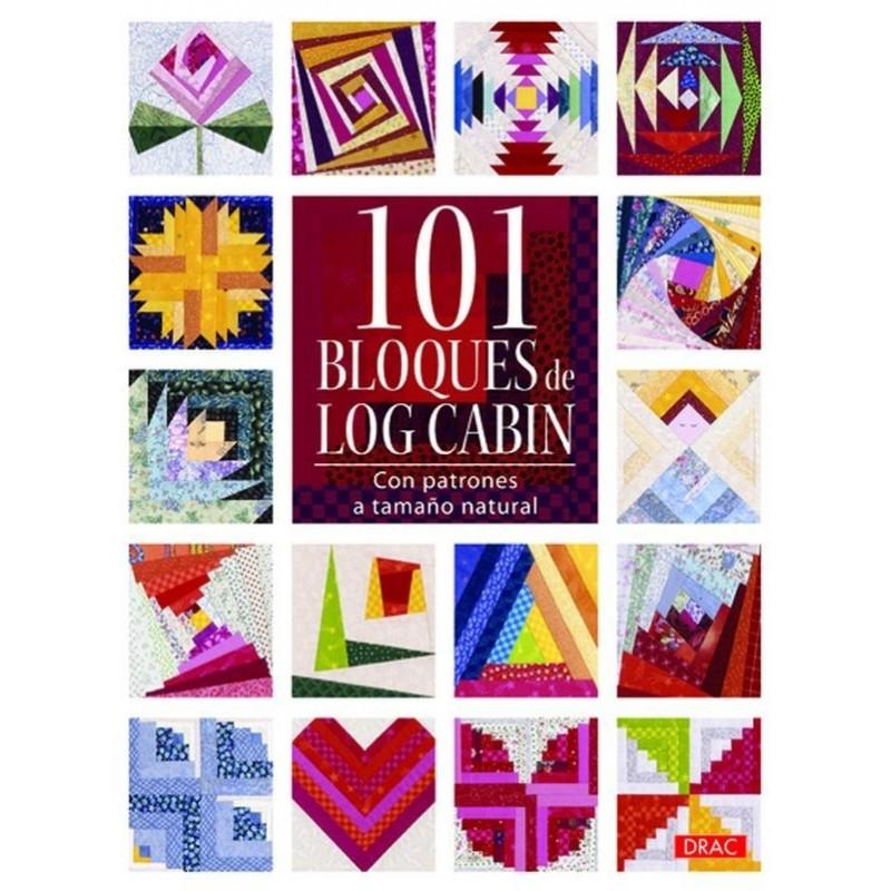 101 bloques de Log Cabin - Las Tijeras Mágicas