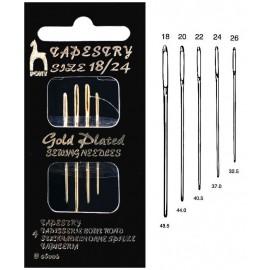 Pony Gold Tapestry Needles