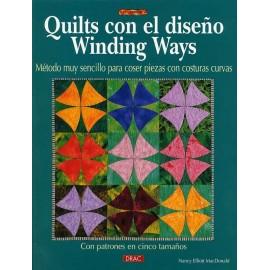 Quilts con el diseño Winding Ways