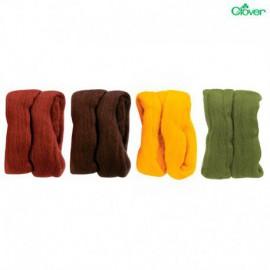 Lana Natural en mecha Clover (Pack 4 colores)