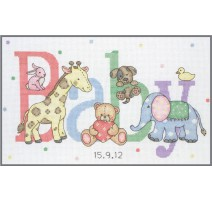 Kit de Punto de Cruz - Baby Animals - Anchor