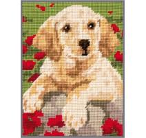 Needlepoint Tapestry Kit - Labrador Puppy - Anchor