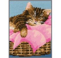 Needlepoint Tapestry Kit - Kitten - Anchor