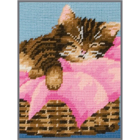 Kit de Punto de Cruz - Kitten - Anchor
