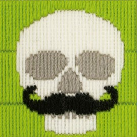 Anchor 1st Kit de Tapiceria - Skull With Moustache