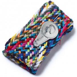 Trenza de hilos para coser 60 cm con aguja y enhebrador Prym