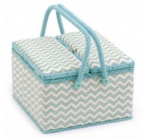 Costurero Doble Tapa - Scribble Chevron