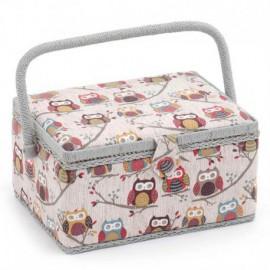 Sewing Box - Hoot (Medium-Sized)