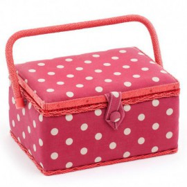 Sewing Box - Red Dot...
