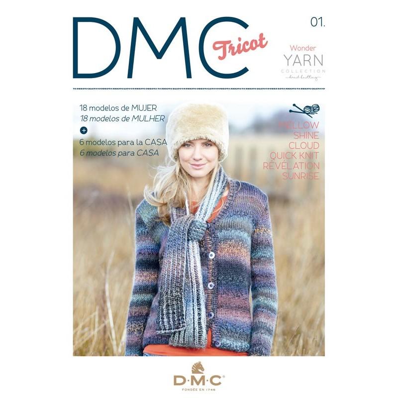Revista DMC Tricot - N 1 -Wonder Collection