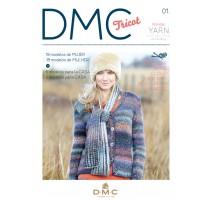 Revista DMC Tricot - Nº 1 - Wonder Collection