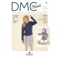 Revista DMC Tricot - N 5 -Gold Collection