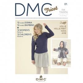 Revista DMC Nº 1 Gold Yarn Collection - 2017