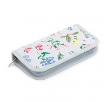 Crochet Hook Case - Spring Garden