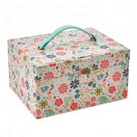DMC Sewing Box - In the garden
