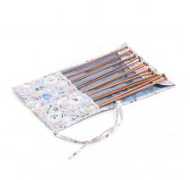 Set de Agujas de Tricot con estuche de tela - Homemade