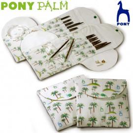 Set de agujas circulares intercambiables de palmera - Pony