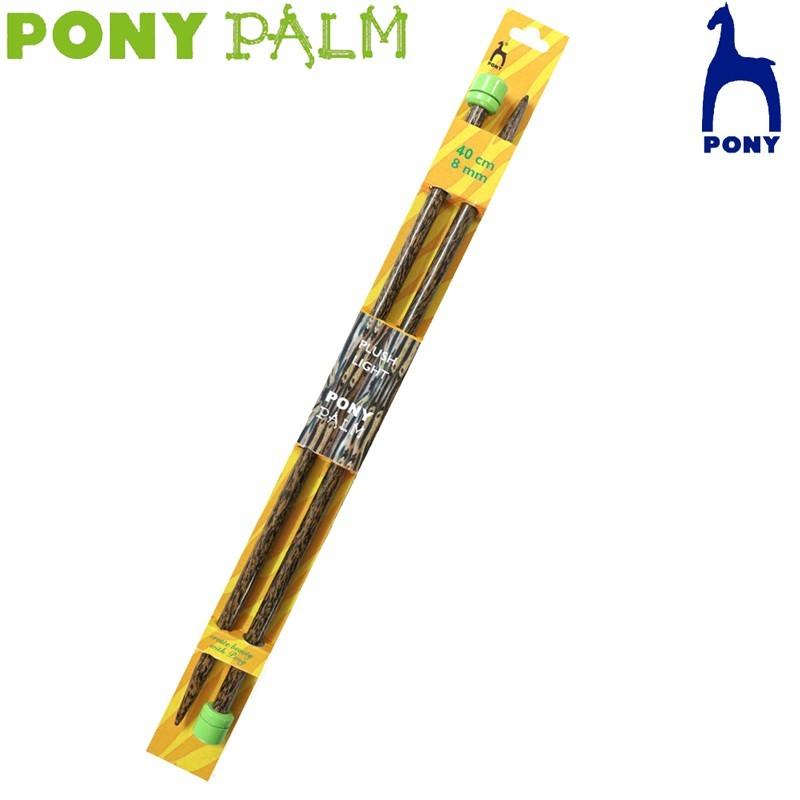 Agujas de tricotar Palm - Pony