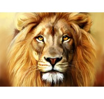 Kit Diamond Painting - León - Collection d'Art