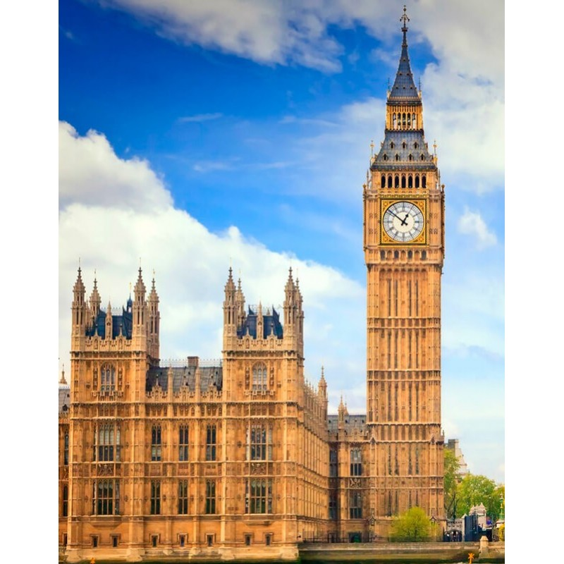 Kit Diamond Painting - Big Ben - Collection d Art