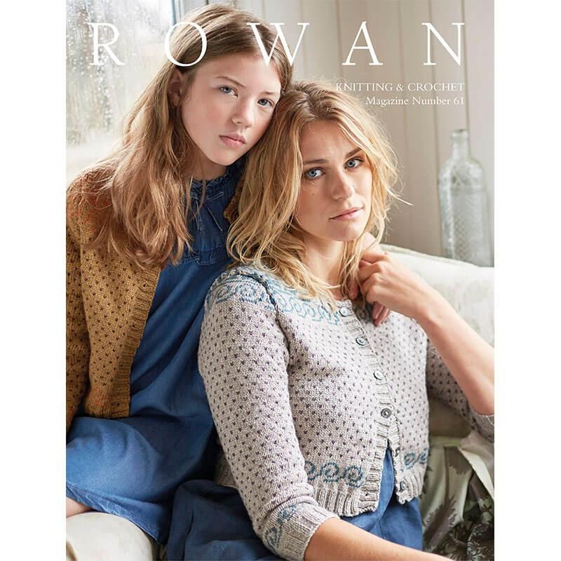 Rowan Nº 61 Knitting & Crochet
