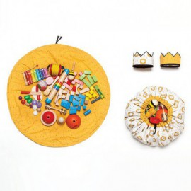 Patrón Katia - Bolsa juguetes y corona