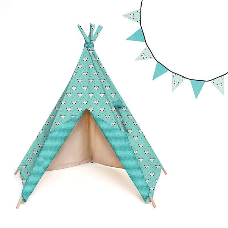 patr n katia tipi y banderines las tijeras m gicas. Black Bedroom Furniture Sets. Home Design Ideas