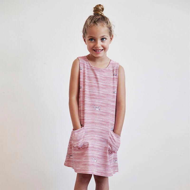 Patrón Katia - Vestido sin mangas + Camisa - Las Tijeras Mágicas
