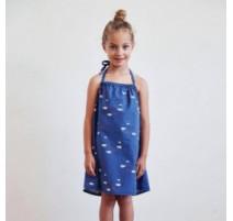 Patrón Katia - Vestido sin espalda