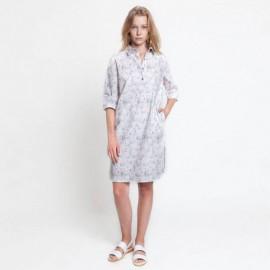 Patrón Katia - Vestido camisero manga 3/4 + Camisa